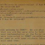 erste E-Mail in Deutschland